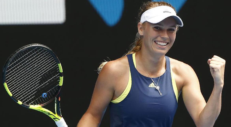 Resultado de imagem para halep wozniacki australian open final