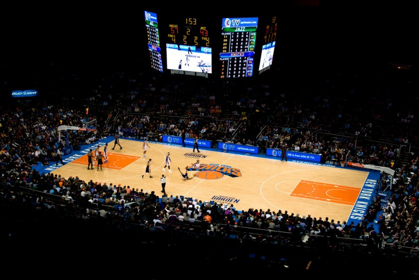 New-York Knicks in the Madison Square Garden