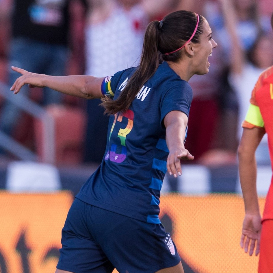 Four Reasons Why Alex Morgan Is The Most Irreplaceable Player on the USWNT