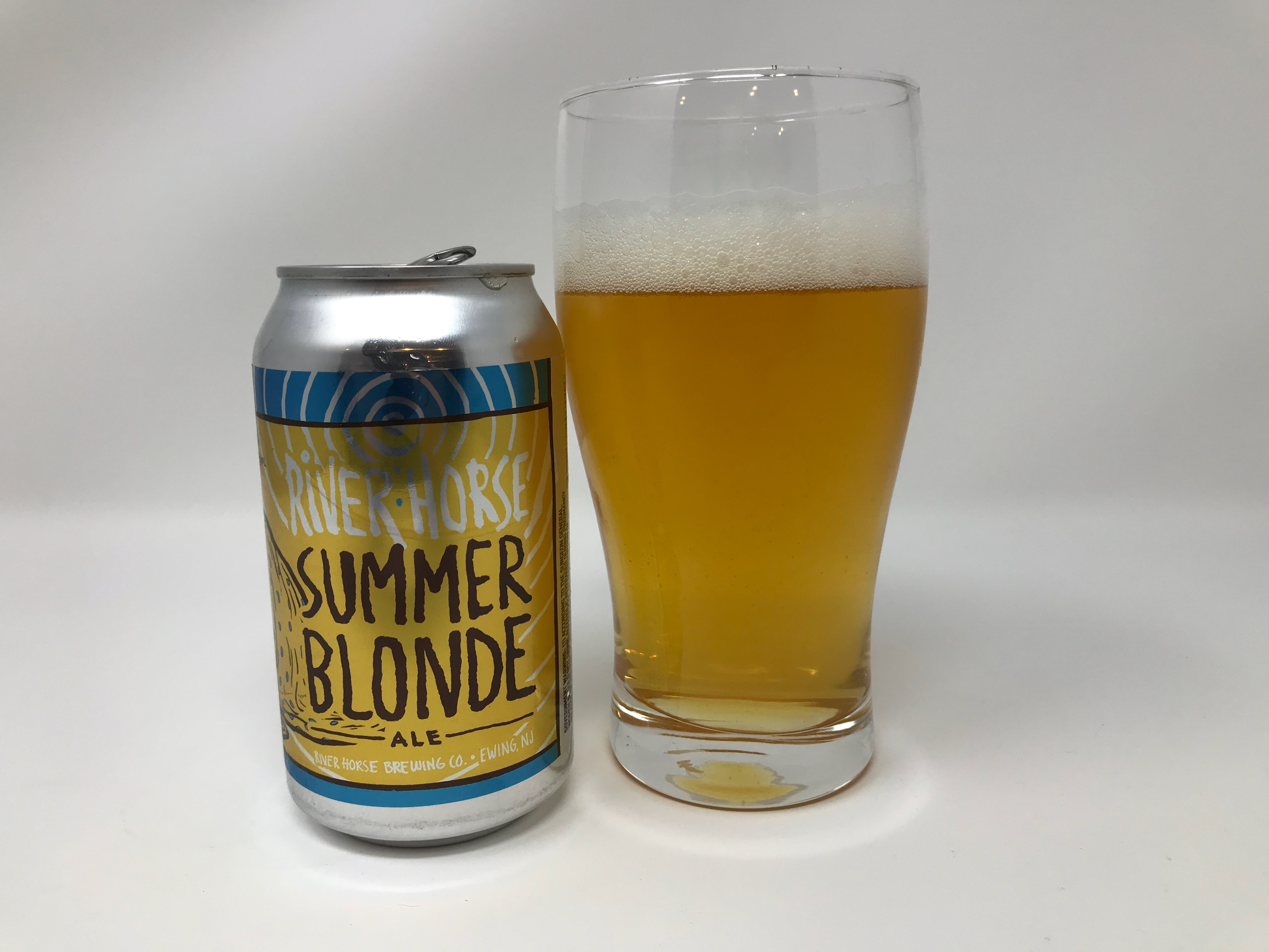 River Horse Summer Blonde Ale Review The Sporting Brews