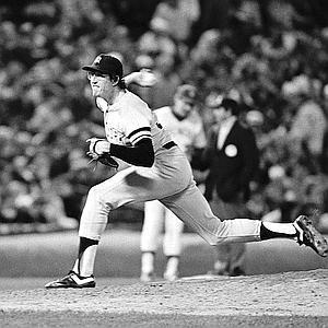 Baseball Game  1981 AL Playoffs  Milwaukee vs NY Yankees Game1