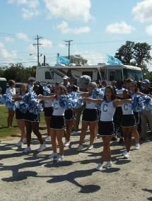 Coastal Carolina University Cheerleaders