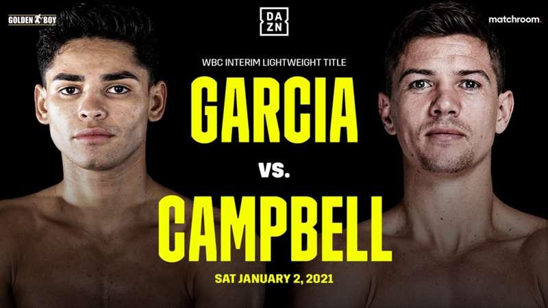 Ryan Garcia vs. Luke Campbell LIVE