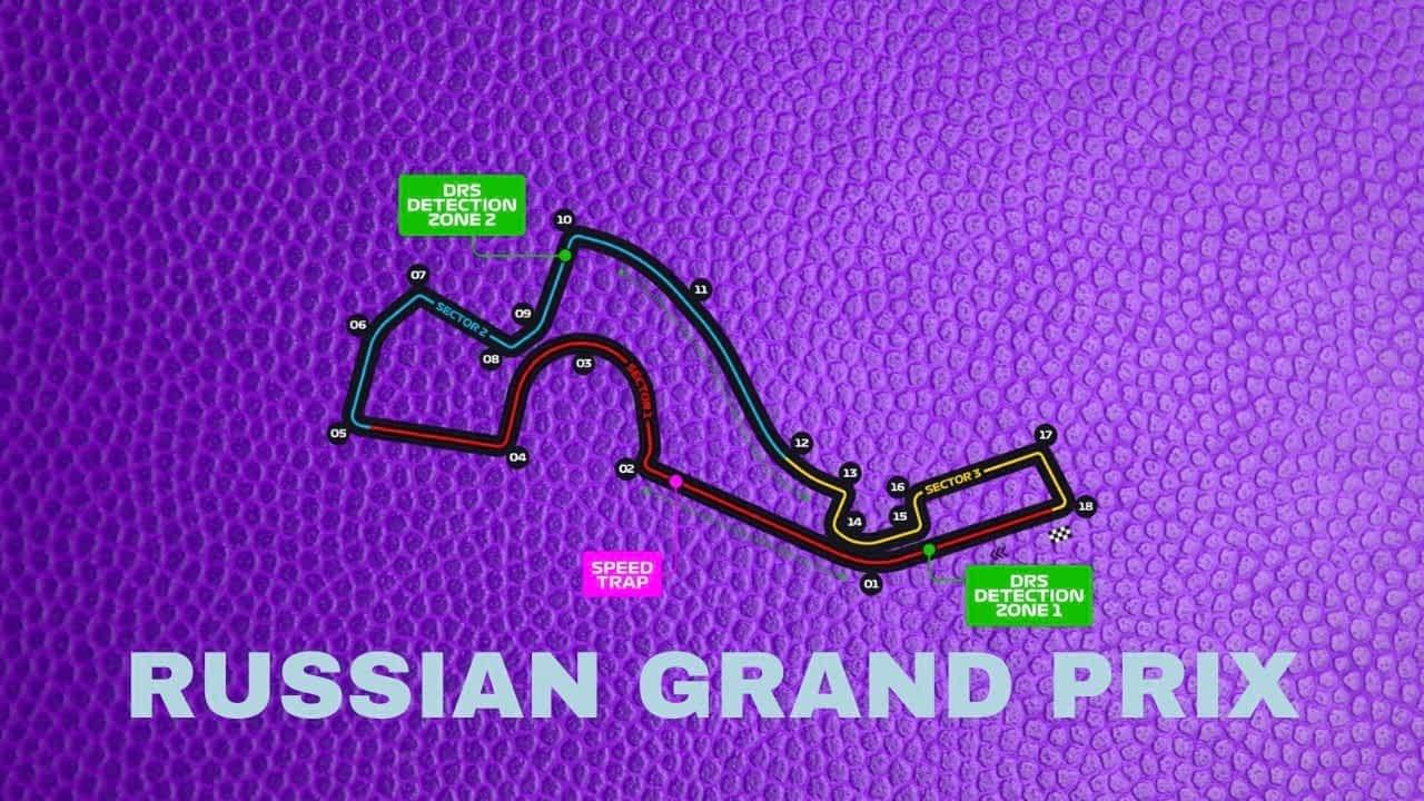 Full List Of The F1 Russian Grand Prix Winners And Fastest Formula 1 Laps At The Sochi Autodrom Circuit