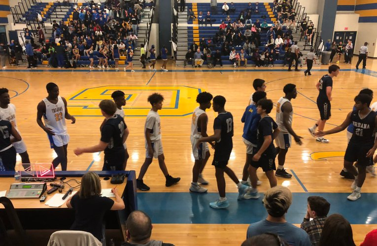 Gaithersburg blows out Urbana, 67-41