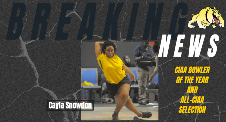 Snowden becomes 2020 CIAA Bowling Player of the Year