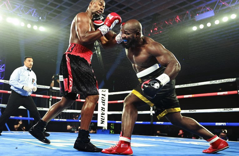 Takam guts out impressive victory over Forrest