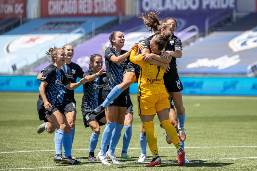 Sky Blue FC ends the Spirit's Challenge Cup dreams in PKs