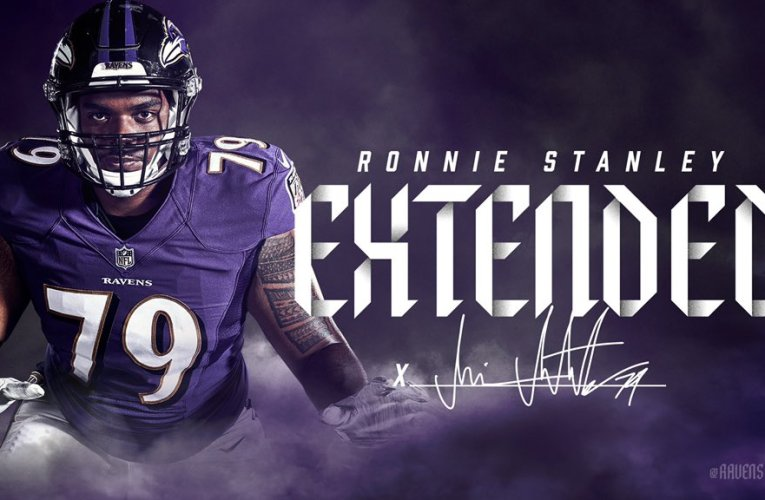 Ravens extend Ronnie Stanley to Five-Year Contract