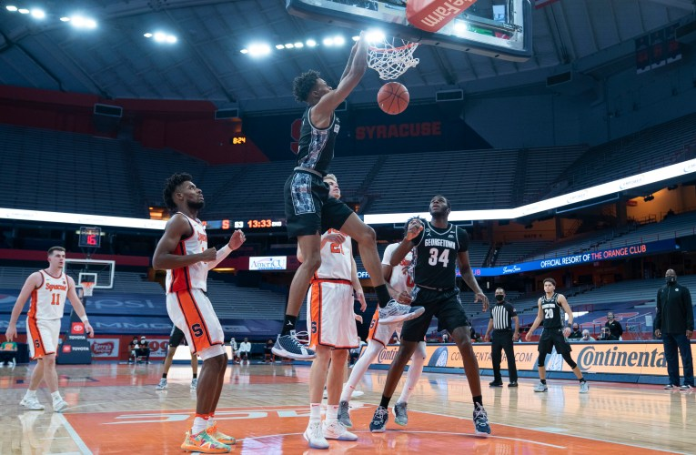 Georgetown's struggles continue, loses to Syracuse