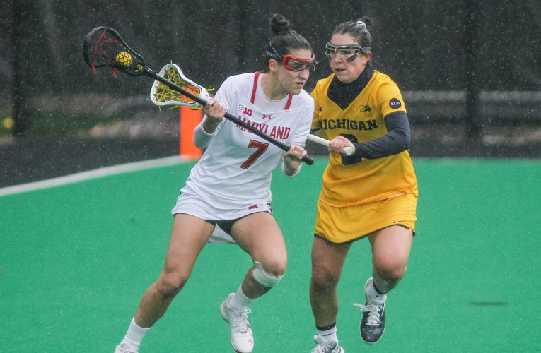 Maryland Women Sweep Michigan