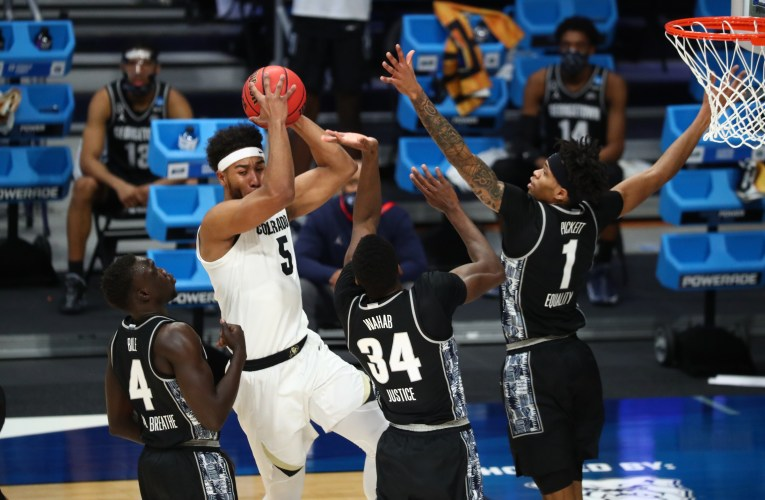 No. 5 Colorado Routs No. 12 Georgetown in NCAA Tourney