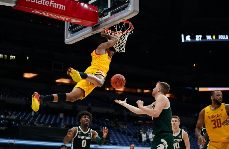 Terps take down Michigan State in Second Round of Big 10 Tournament