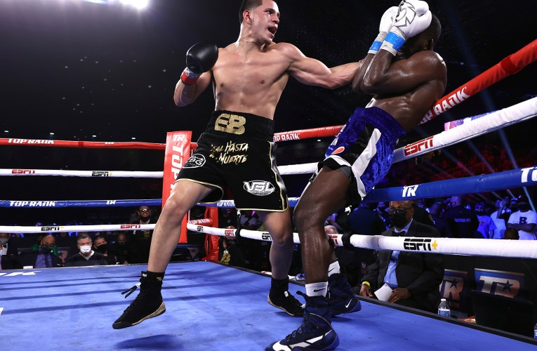 Nicholson Knocked Down Four Times in Defeat against Undefeated Berlanga