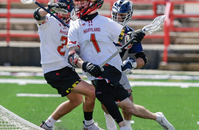 Bernhardt's record-setting day leads Maryland lacrosse over Penn State