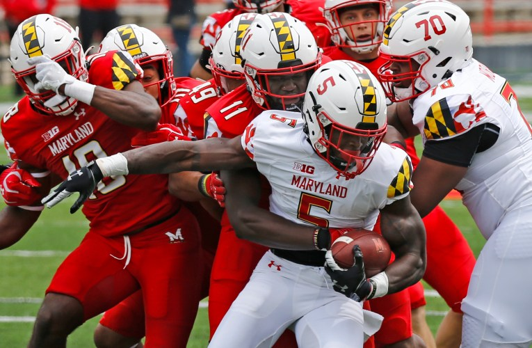 PHOTOS: Fans return for competitive Maryland Spring Game