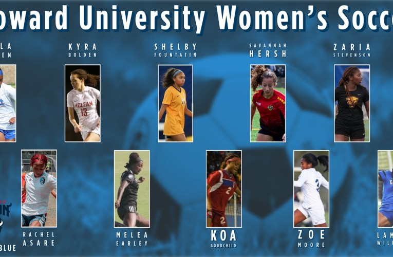 Howard Welcomes New Talent to Women's Soccer Team