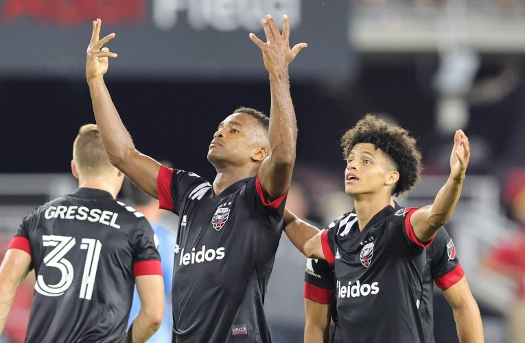 PHOTOS: DC United scores 3 goals in win over Union