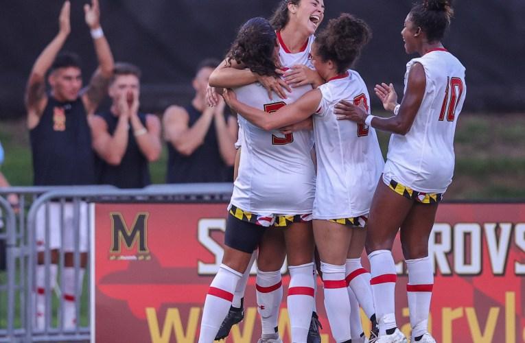 2021 NCAA Women's Soccer: Richmond vs Maryland