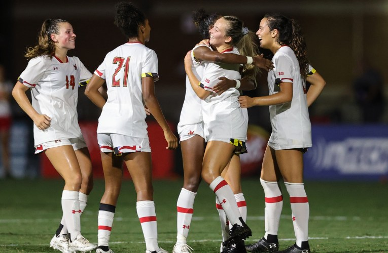 PHOTOS: Maryland women's soccer wins opener 3-0 over Temple