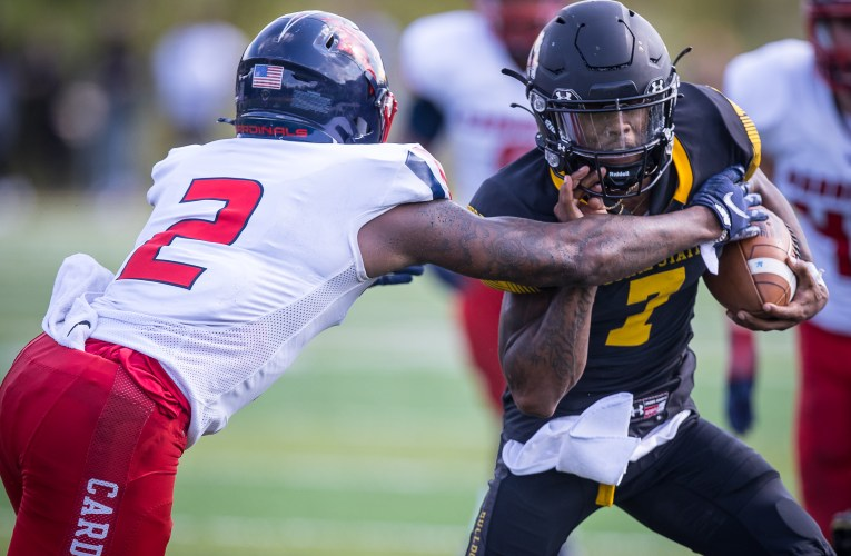 PHOTOS: Bulldogs football hold off Saginaw Valley State