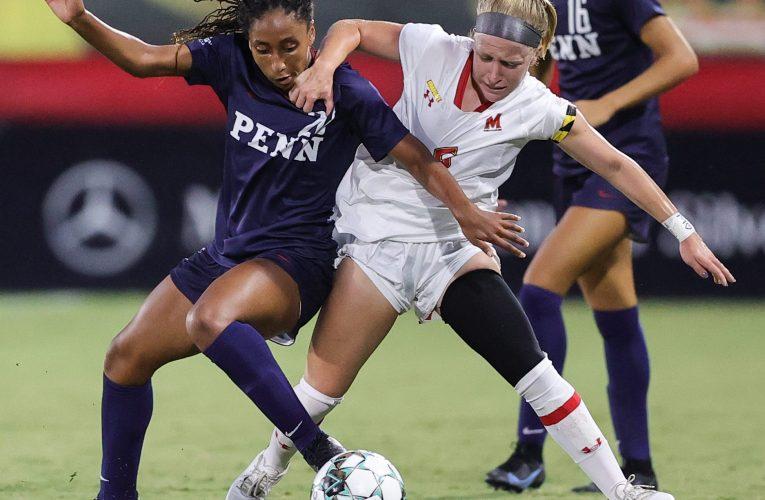 2021 NCAA Women's Soccer: Penn vs Maryland
