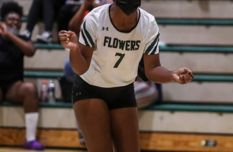 PG 4A Volleyball: E. Roosevelt 3 CH Flowers 0