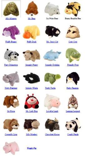 My Pillow Pets