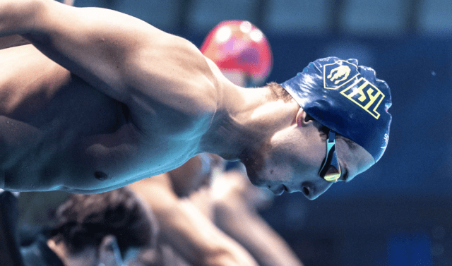 Kristian Gkolomeev Lowers 50 Free Greek Record For A Third Time In Budapest