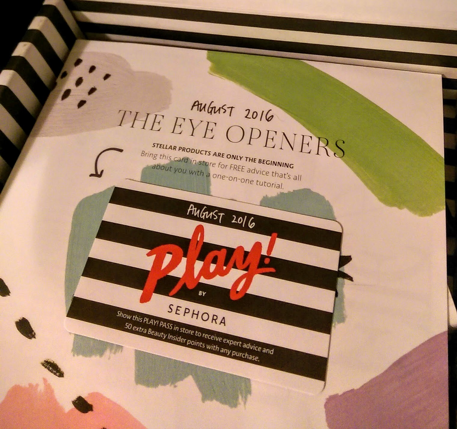 August Sephora Play: Makeup Mother Load!