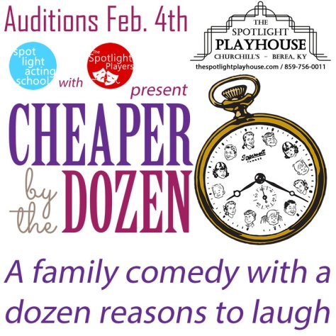 Cheaper by the Dozen Auditions
