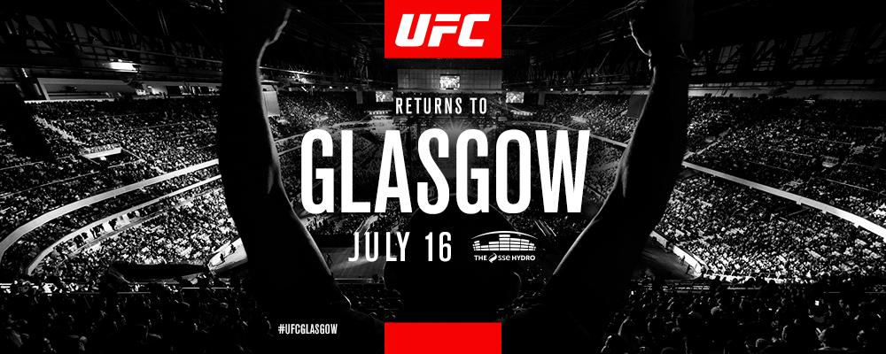 UFC Glasgow July
