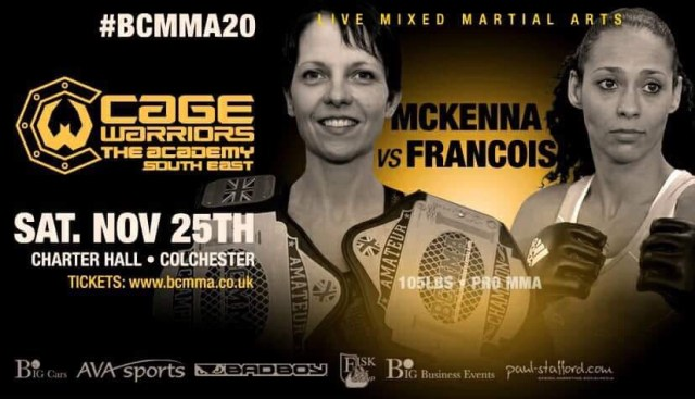Wendy McKenna vs. Samantha Jean Francois BCMMA 20 Poster