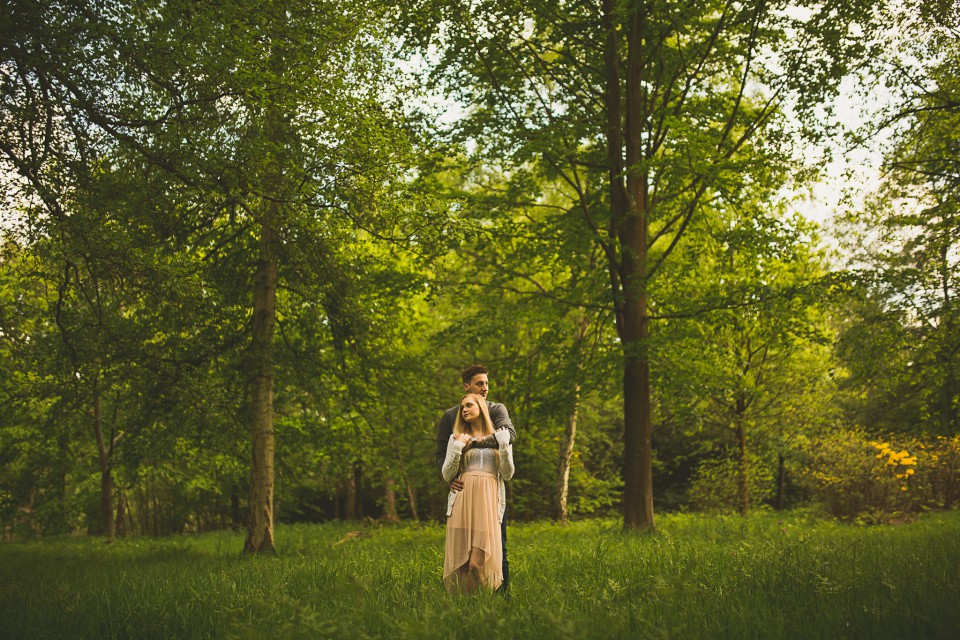 Virginia Water Couple Session