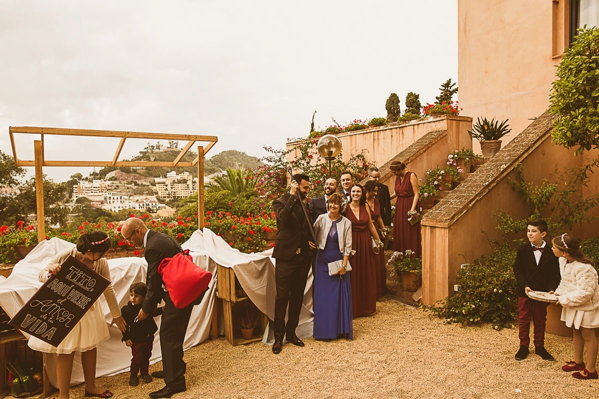 Castillo Santa Catalina Wedding 0478