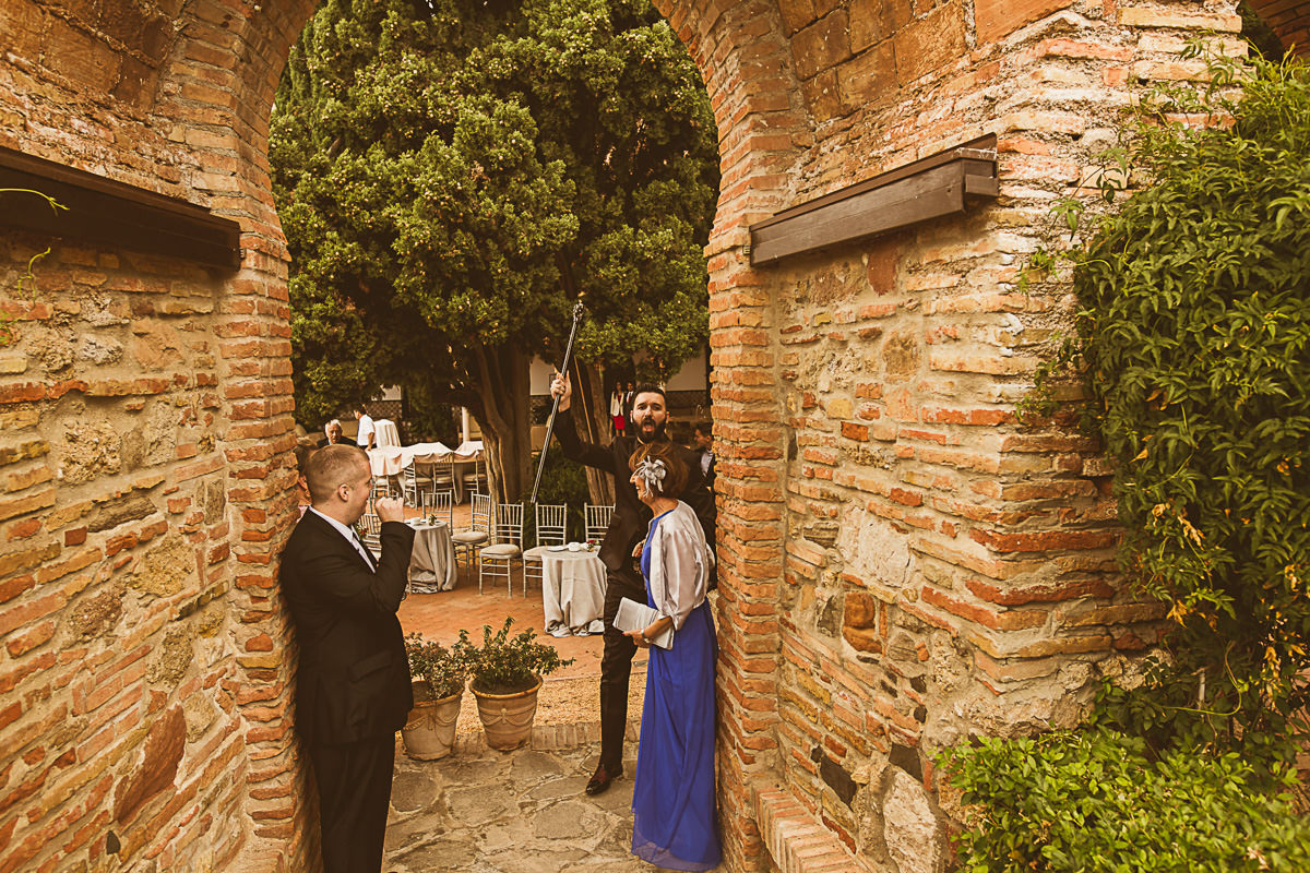 Castillo Santa Catalina Wedding 0493