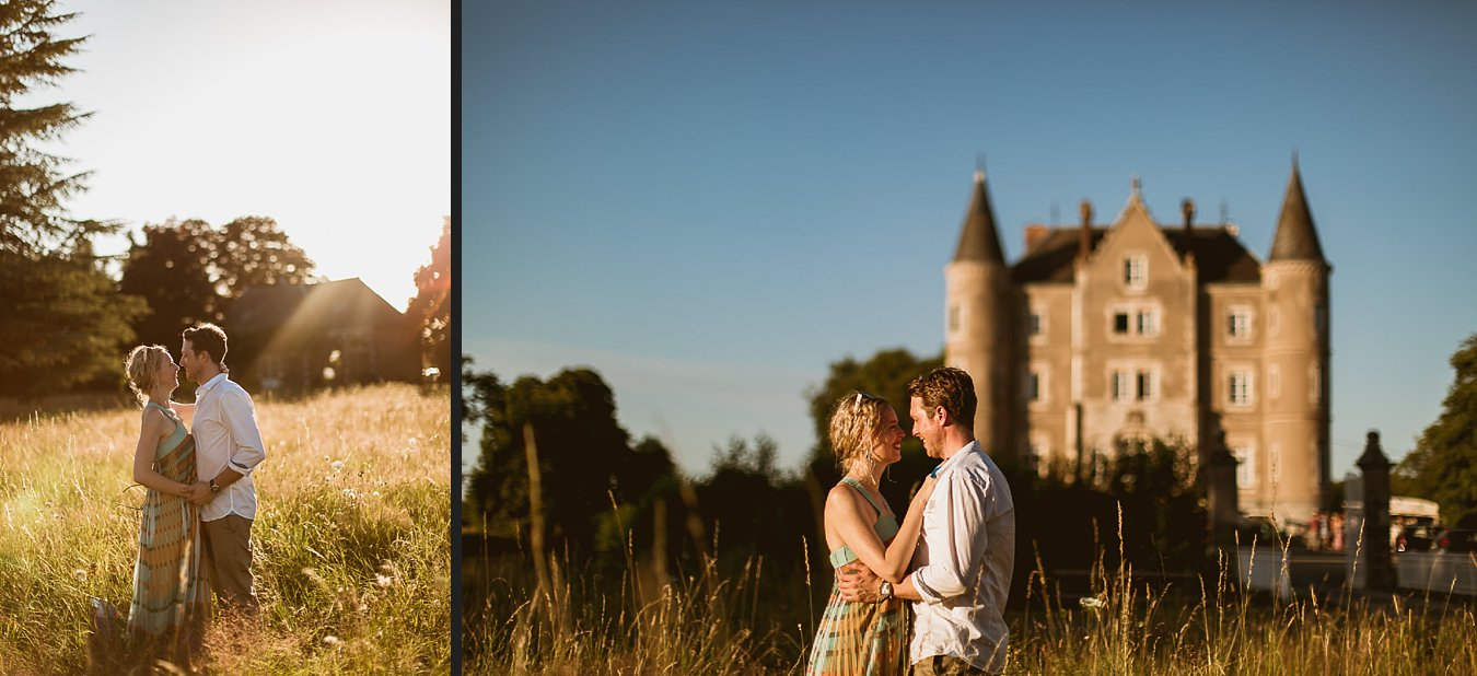 Chateau de la Motte Husson Wedding