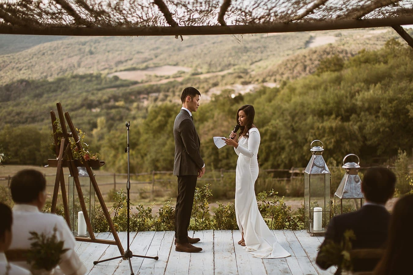 Destination Wedding Photographer Siena Tuscany