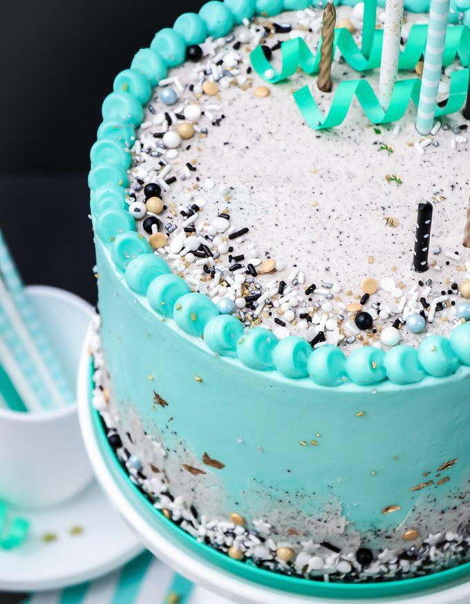 Enjoyable Oreo Inspired Cookies And Cream Cake Sprinkles Funny Birthday Cards Online Hendilapandamsfinfo