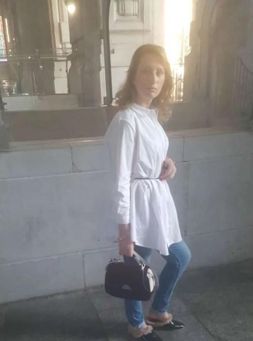 Camicia bianca: Vestito!