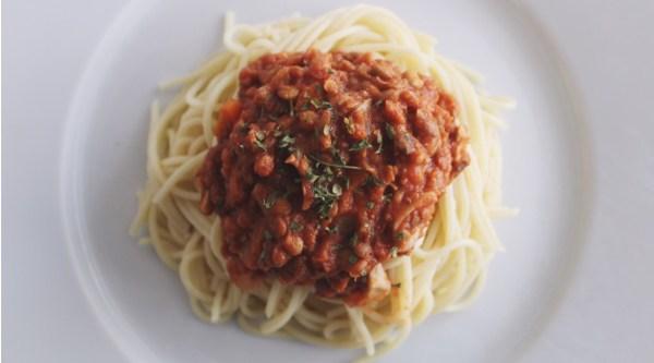 Lentil Bolognese Recipe