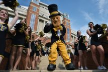 Wake Forest Football Mascot