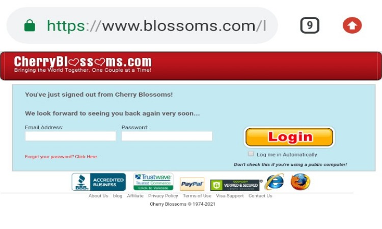 wwwcherryblossom dating asiatic