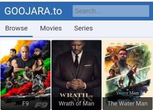 Goojara.to: Watch & Download Free Movies, Series, Anime & Cartoon