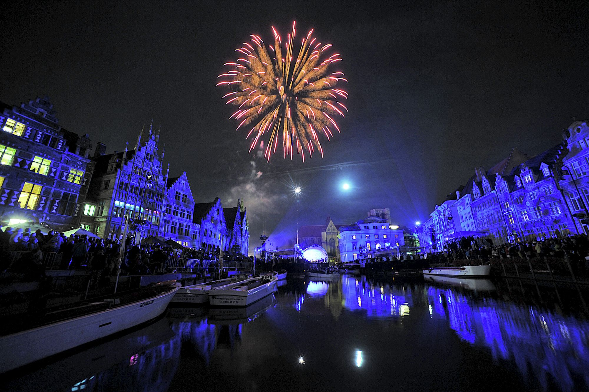 New Year Traditions And Events In Gent