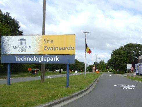 Tech park Zwijnaarde entrance ©VOKA