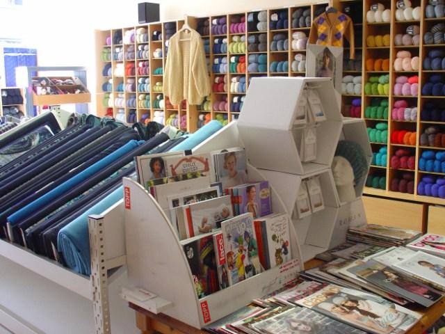 Shop interior Stoffenidee Ghent