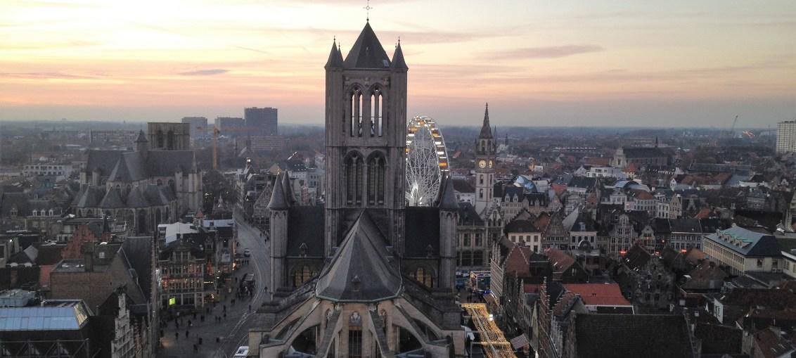 Skyline of Ghent ©Rebecca Bramlett