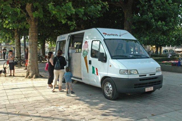 Pierino ice cream van Gent