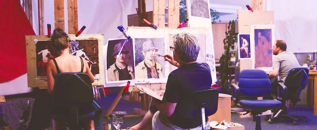 Image from a painting class 21Studio